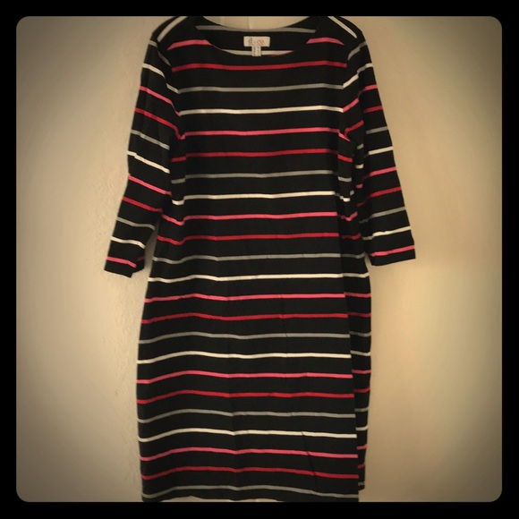 Denim&Co Dresses & Skirts - D&Co striped dress